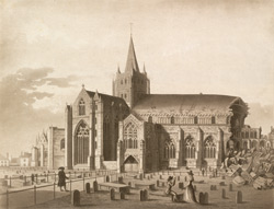 N. W. View of Hereford Cathedral